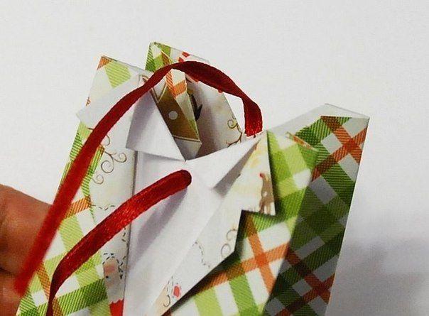 """Упаковка для мужского подарка """"Рубашка"""". Пошаговый урок"""