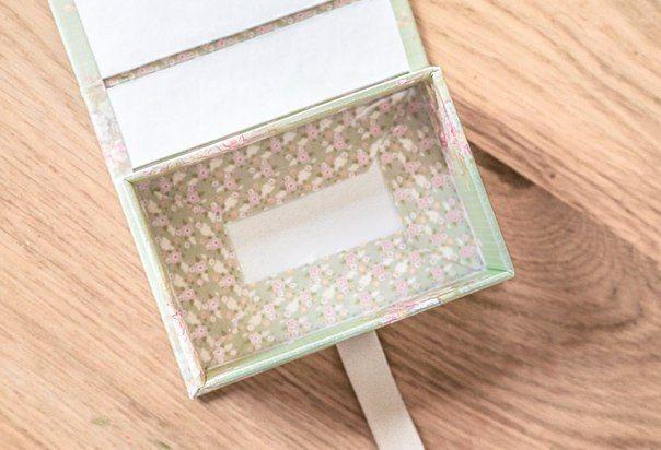 Подарочная коробочка. Фото урок